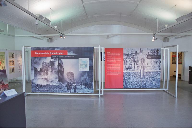 Eingangfoyer Akademie der Künste Hamburg